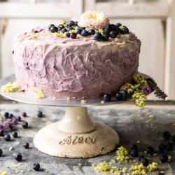 Noida Special Blueberry Cakes,Same day and Midnight Delivery in Noida.