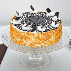 Noida Special Butter Scotch Cakes,Same day and Midnight Delivery in Noida.