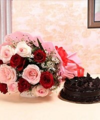 Cake and Flower