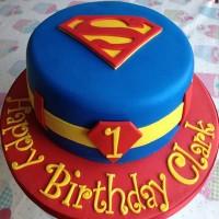 Superman Cakes